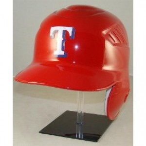 Texas Rangers Coolflo Authentic Full Size Batting Helmet