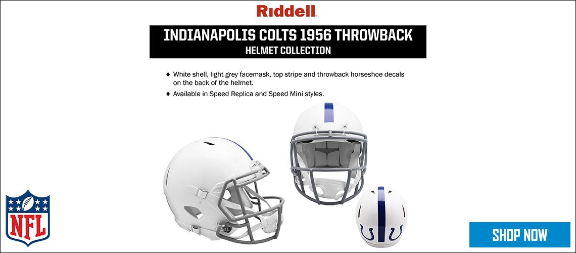 Indianapolis Colts 1956 Throwback Helmet Collection
