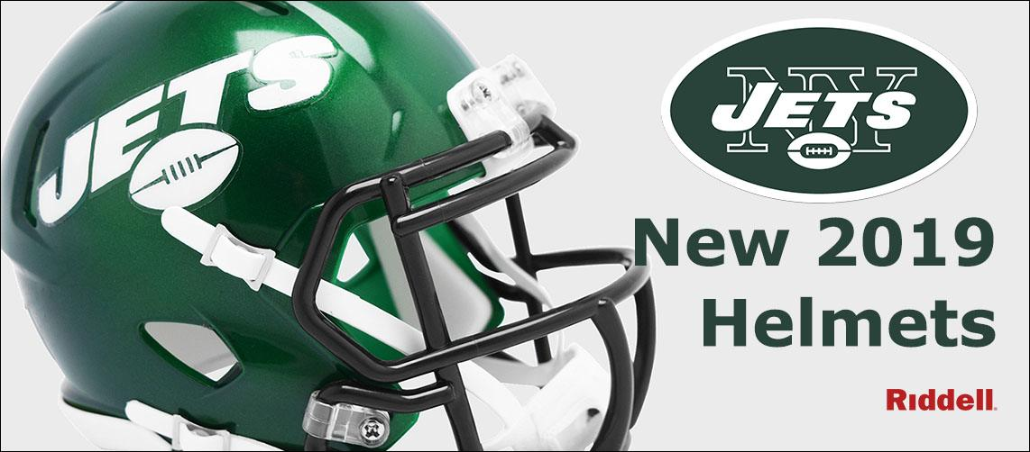 New York Jets New 2019 Helmets